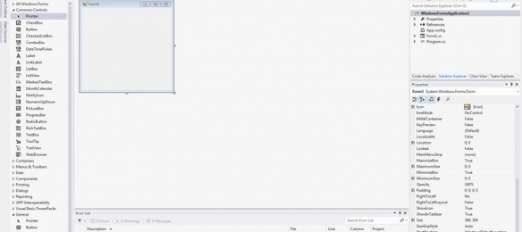 Visual Studio 2012 IDE