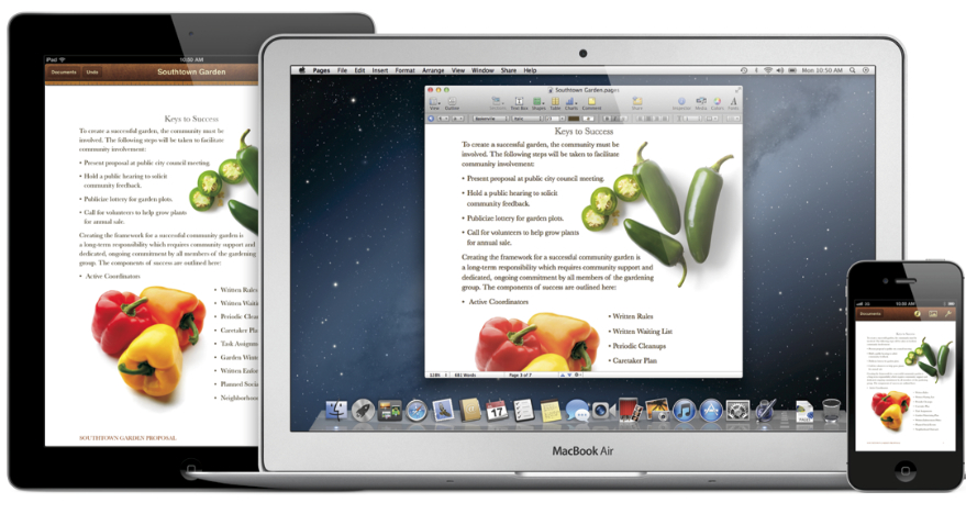 Mountain_Lion Pages Meet iCloud