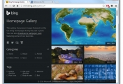 Bing Homepage Gallery