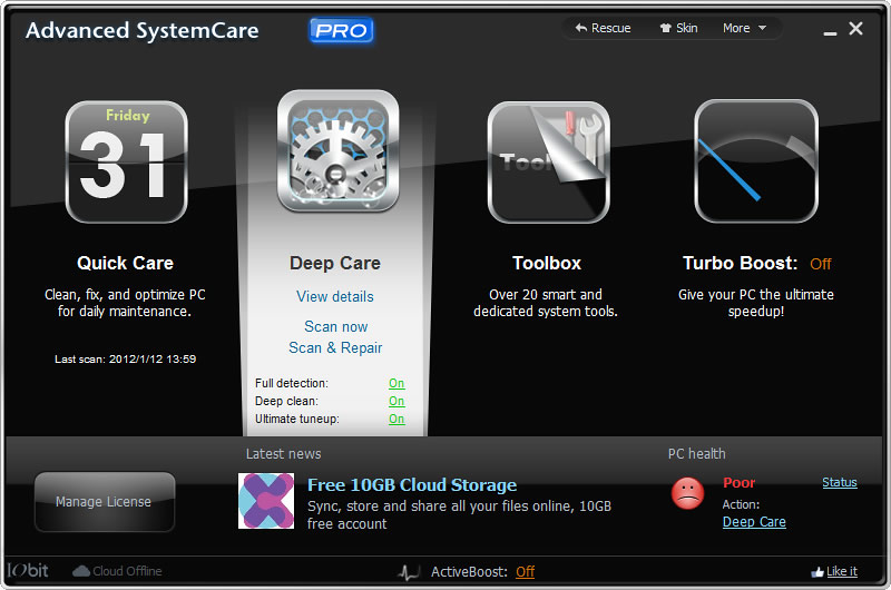 IObit Advanced SystemCare 5 PRO